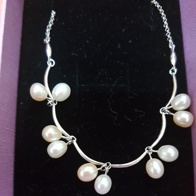 珍珠項鍊【專櫃購買】2折