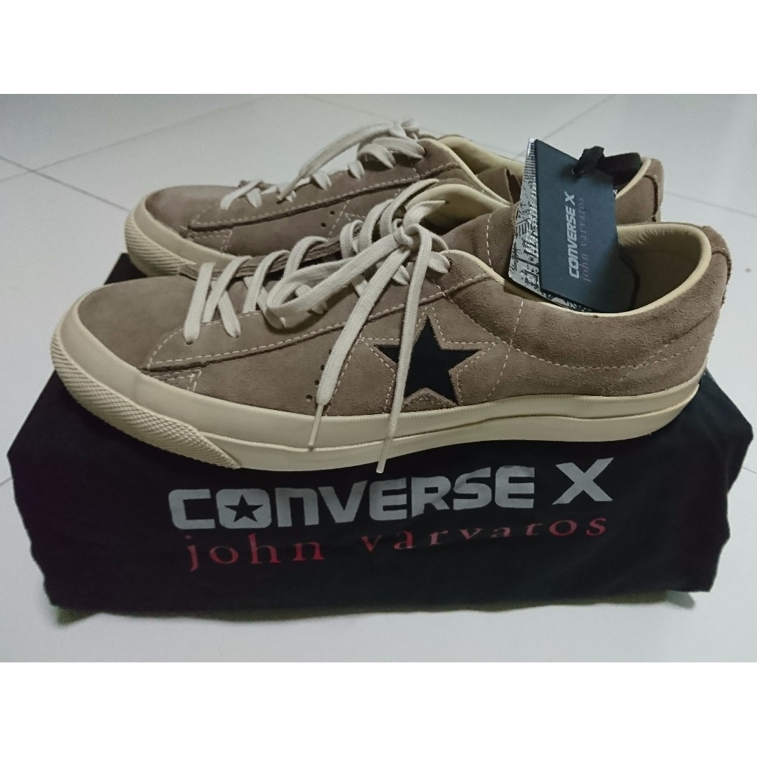 on sale 4c1ba 77846 ... inexpensive 40 off limited edition converse x john varvatos sneakers  wood brown mens fashion footwear on