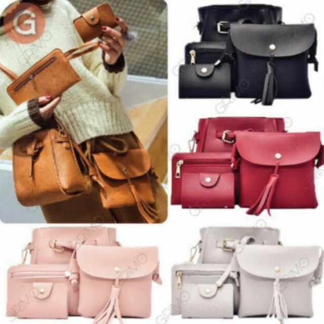 4 in 1 Set Korean Bag