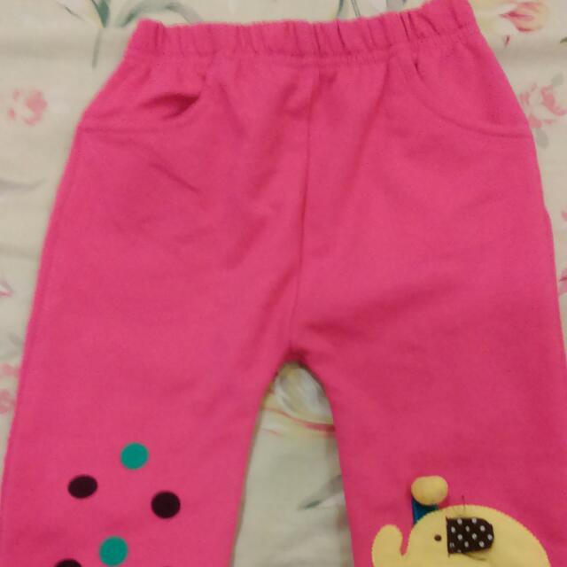 粉紅色長褲90