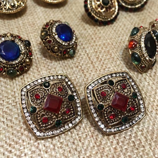 迷路街🇹🇷土耳其帶回 寶石耳環