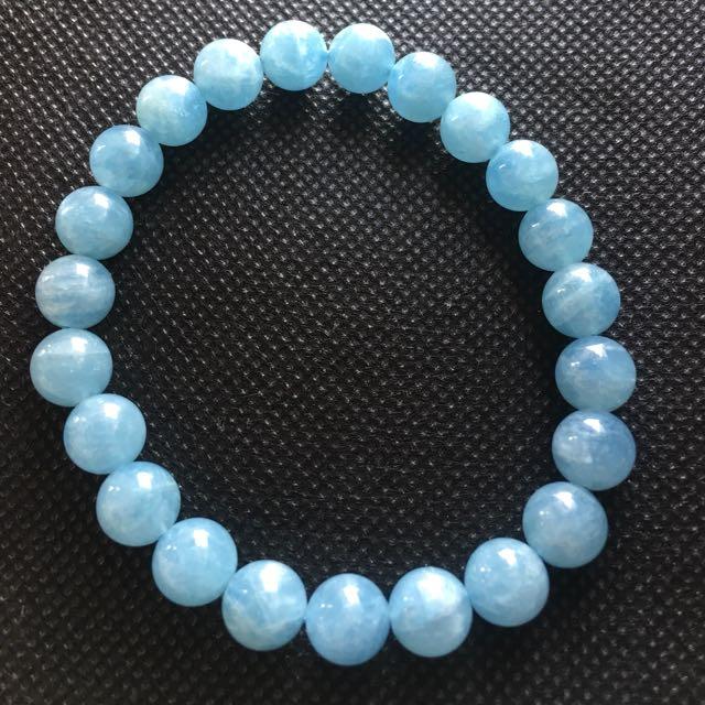 海藍寶手珠
