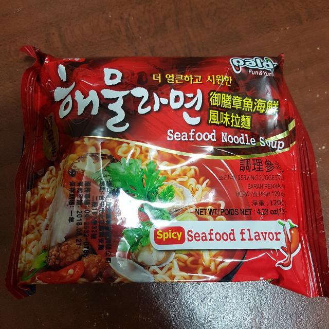御膳章魚海鮮風味拉麵