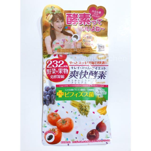 232爽快酵素日本醫食同源 120錠入 232種天然植物酵素 健康補助食品 女人我最大 Kevin老師推薦