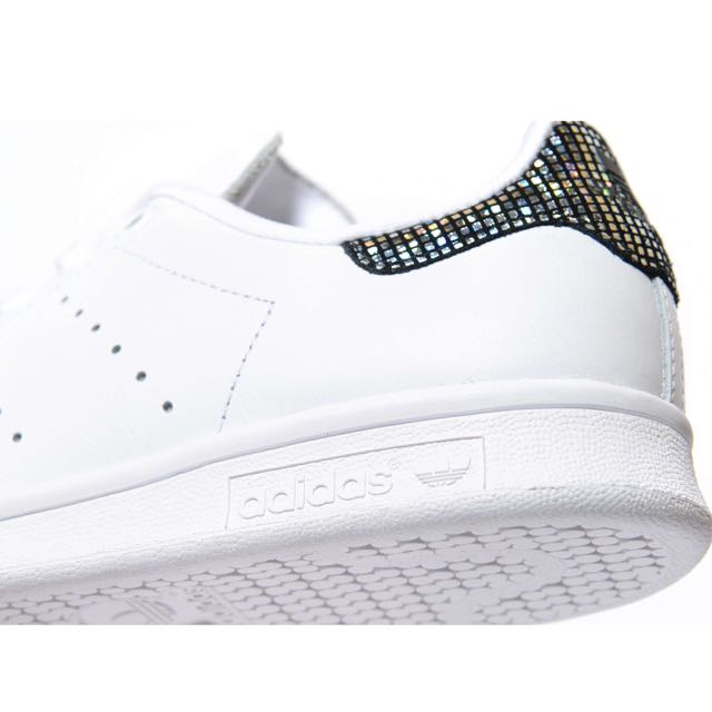 adidas stan smith zwart glitter