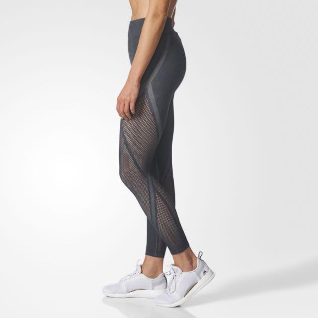condensador perdonar Burlas  Adidas Warp Knit Tights, Sports, Sports Apparel on Carousell