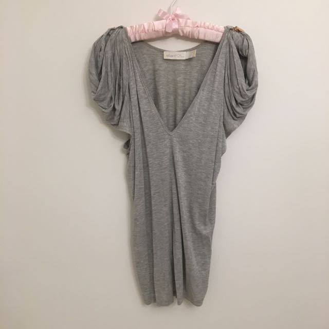 Alice McCall Grey Top