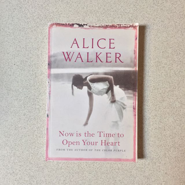 Alice Walker - Now Is The Time To Open Your Heart