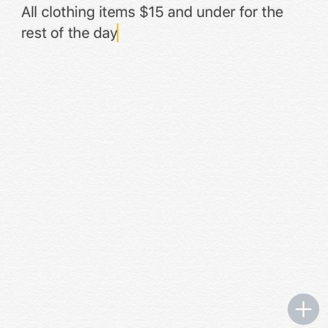 All Clothing New & Used