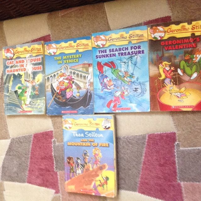 All Geronimo Stilton And Thea Stilton Books