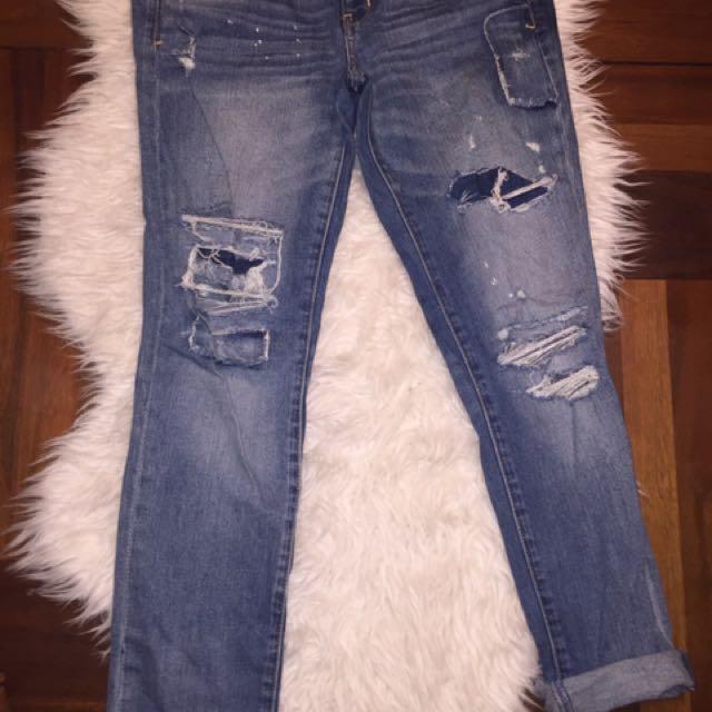 American Eagle Distressed Denim Jeans