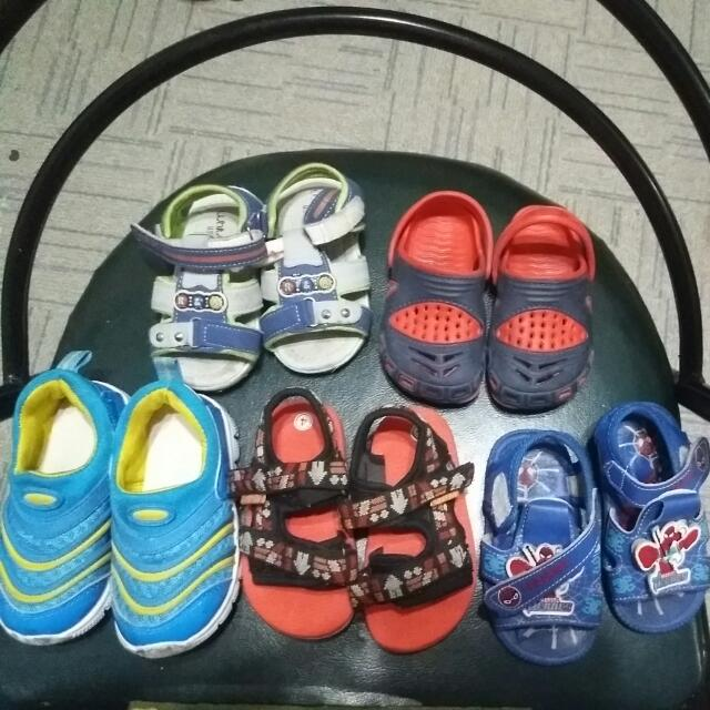 Assorted Footware For Boys