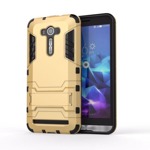 """Asus Zenfone 2 Laser 5,5"""" Gold Transformer Hard Case"""