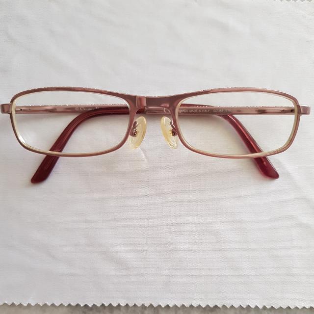 c06a031adda6 Authentic Christian Dior Eyewear Eyeglasses. Colour  Metalic Shinny ...