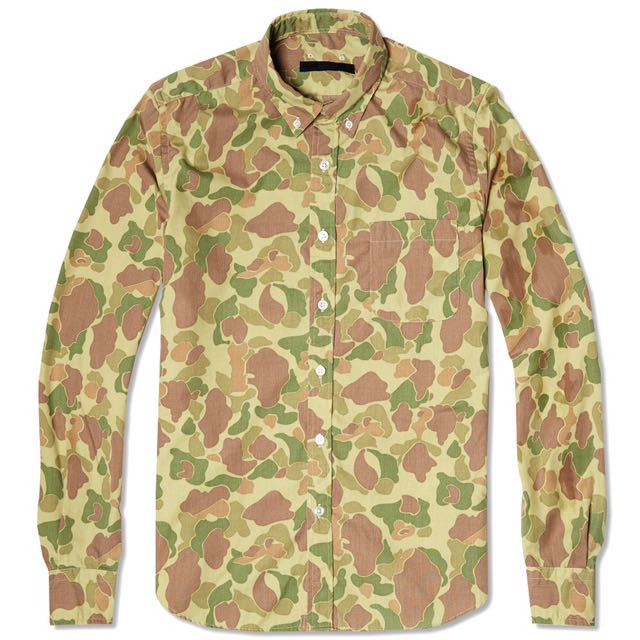 178413fc4c Authentic Sophnet Duck Hunter Camo Shirt