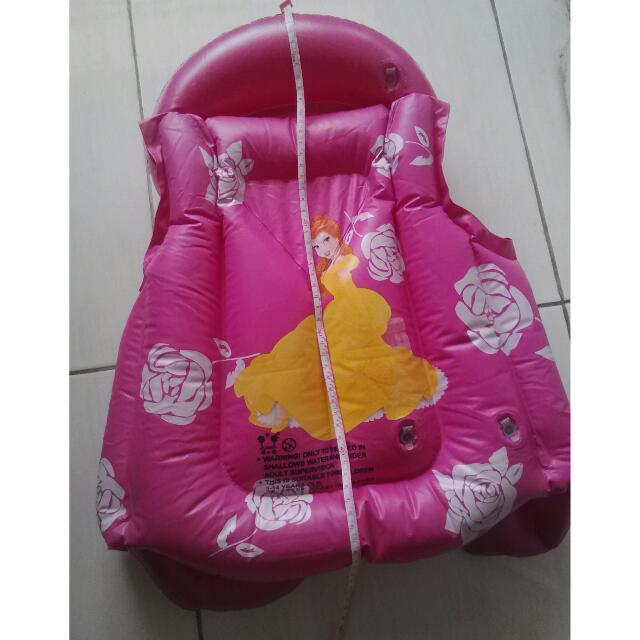 Baju Pelampung Balita Anak Swim Vest Life Jacket Rompi Renang Model Princess Disney, Toys &