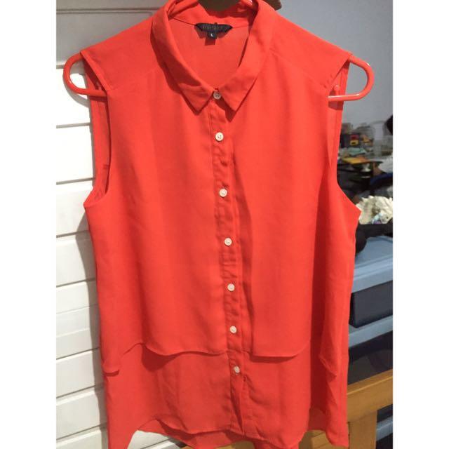 Baju Topshop / Blouse / Atasan / Kemeja / Sleeveless Top