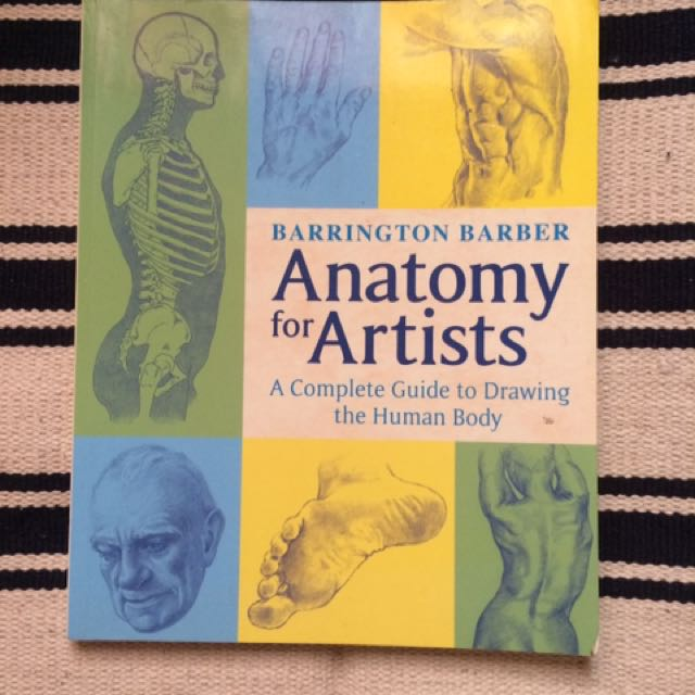Barrington Barber's Anatomy For Artist