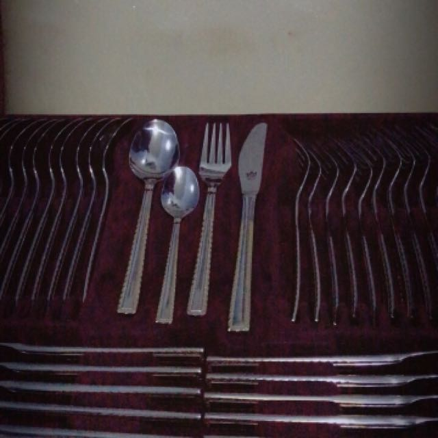 Bestecke Solingen Gold Plated Cutlery Set