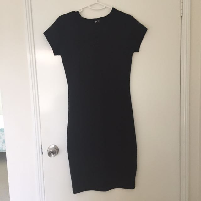 Black Cottonon dress