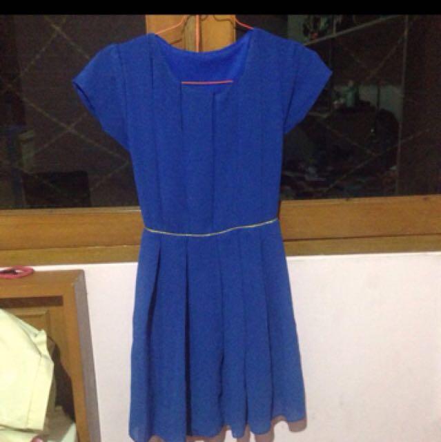Blue Dress,dress Biru