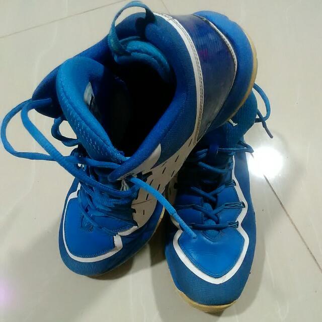 Blue Nike Flightplate Jordan