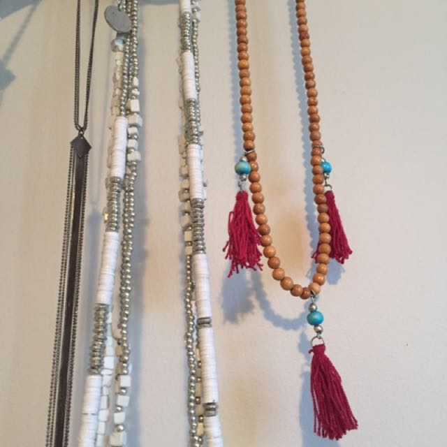 Boho Necklaces- Price Includes Postage