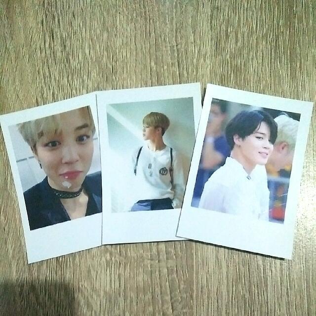 BTS Jimin Photocard (fanmade)