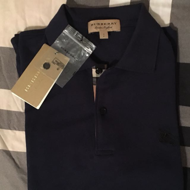 Burberry Polo Shirt Size Small