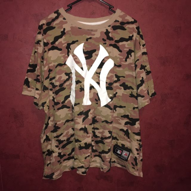 Camo Major League Baseball Shirt