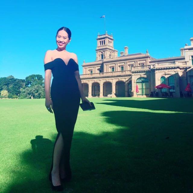 Classy Black Evening Dress