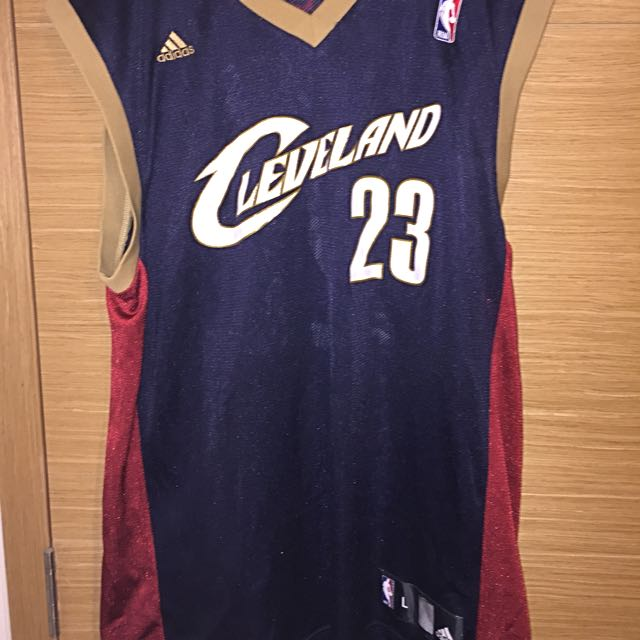 half off 6b145 f971c Cleveland Lebron James Authentic Jersey NBA
