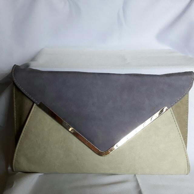 Clutch Purple Grey