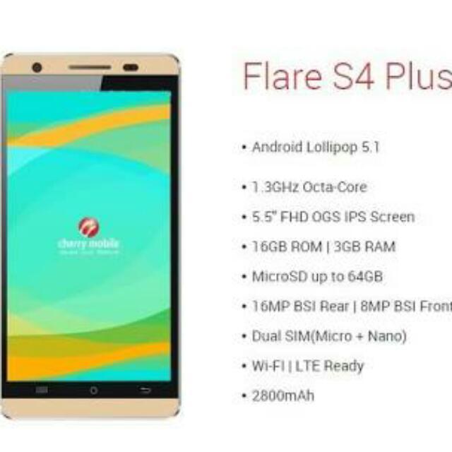 CM Flare S4 Plus Gold
