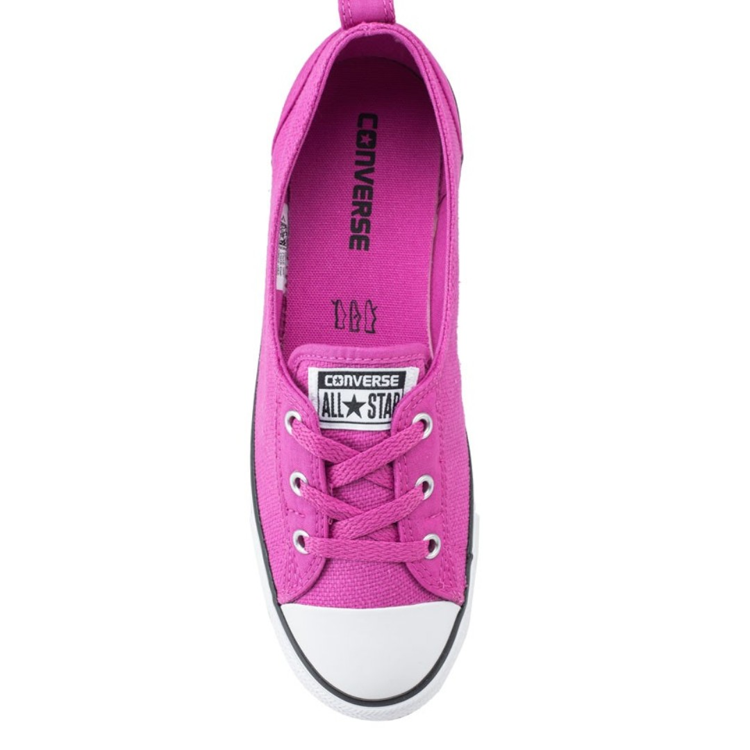 16a70fc5286 Converse Chuck Taylor All Star Ballet Lace Slip Sneakers Ox Pink Size US6  Last Stock