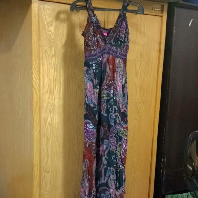 Cotton Floral Dress/Duster