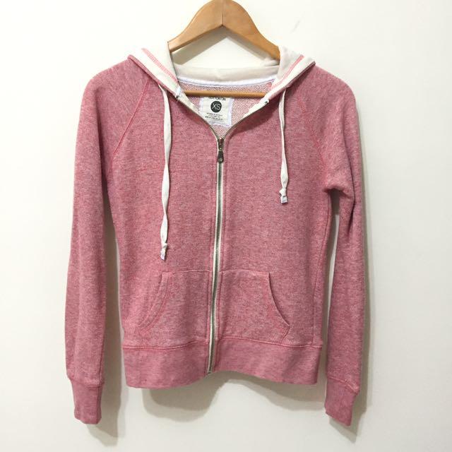 粉色cotton on連帽外套