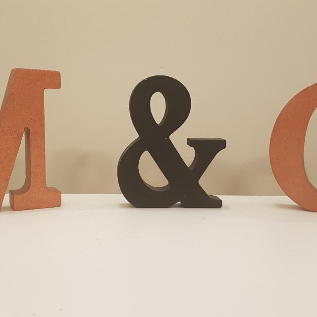 Custom Made Block Letter