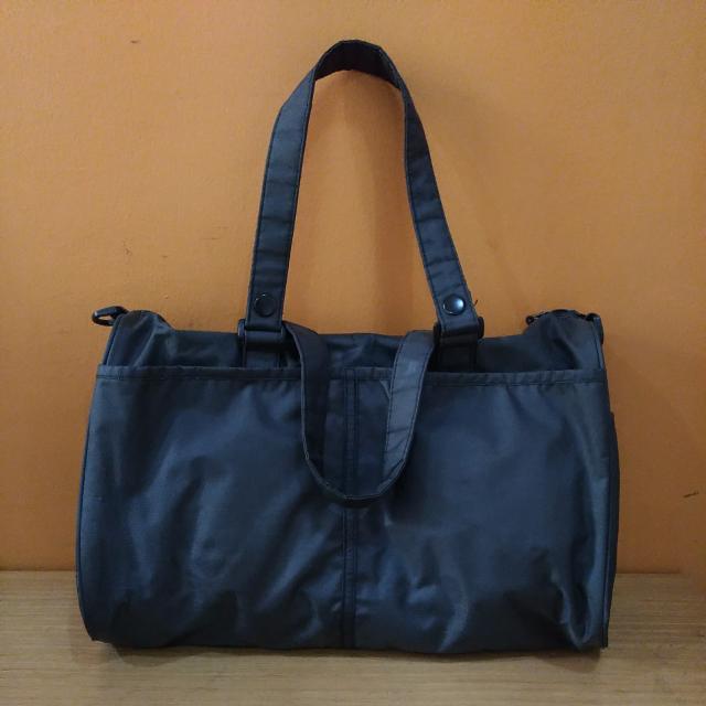 Dark Grey Tote Bag