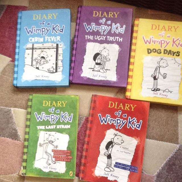All Diary of A Wimpy Kid (All Books In Phoo)