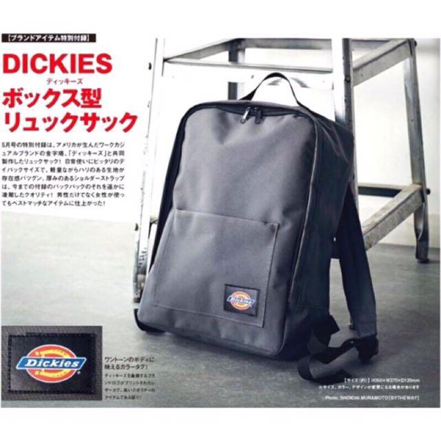 DICKIES後背包 日本雜誌附贈款