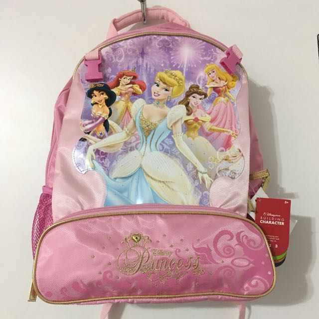 Disney Princess Backpack And Lunch Box Set