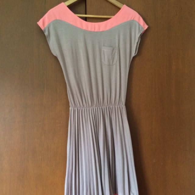 Dress With Electric Pleats