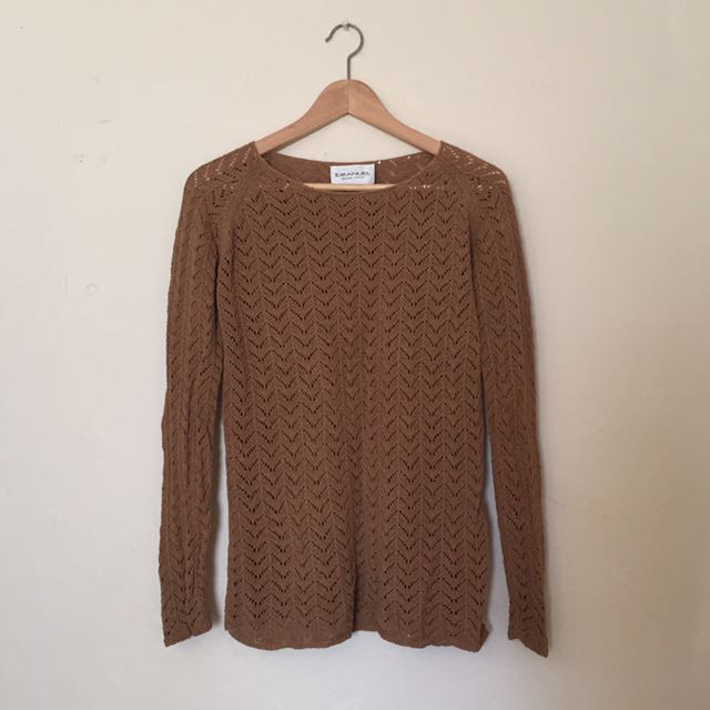 Emanuel Ungaro - Brown Knit
