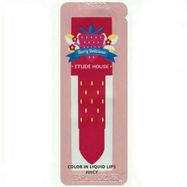 ETUDE HOUSE BERRYLICIOUS LIP SAMPLE