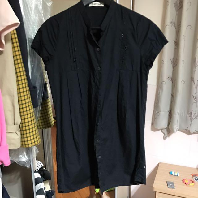 E-wear長版襯衫