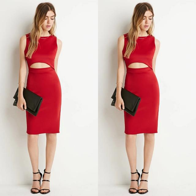 [CLOSING SALE] Forever21/ F21 Bodycon Cutout Dress