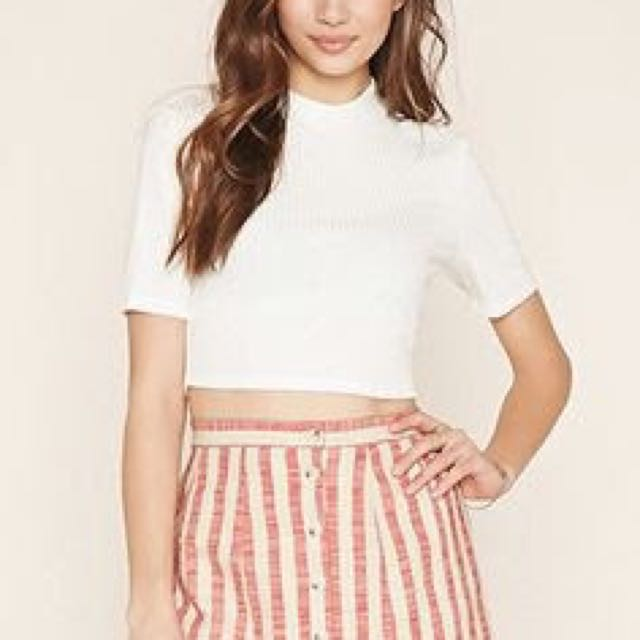 F21 Scallop Skirt