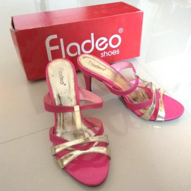 Fladeo High Heels Pink