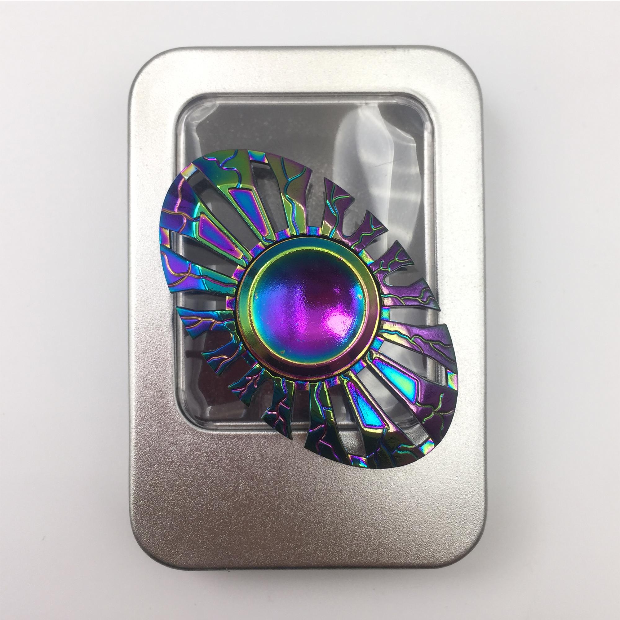 (Flying Fish) Fidget Spinner | New Modern Chrome Plating colour